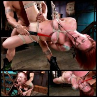 Newbie Gets Hard Fucked In Tight Bondage (4 Apr 2014) Fucked And Bound