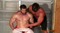 Buff And Bound – Big Max – Chair Bound And Stripped