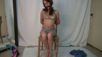 Katerina Restraint Bondage Undress