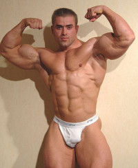 Presents Romanian Bodybuilder Claude Nikolae