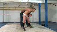 Sebastian – Rugger Fastened And Nude, Caressed With His Wang Belt On