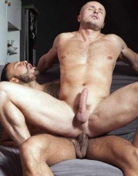 Rough Interracial Anal For Russian Muscle Whore