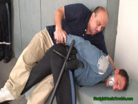 Bad Cop  –  Spanking A Patrol Officer – Part 1