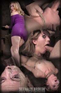 Mona Wales – Sexbomb Gets Tied Up And Roughly Taken From Both Ends By Dick (2016)