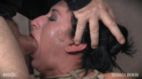 Lily Lane Is Destroyed By A Brutal Face Fucking