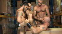 Top Studs In Rough Orgy