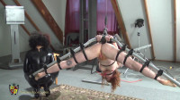 House Of Gord –  Naked Redhead Chandelier Suspension