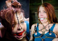 The Red-haired Bitch In BDSM Madness