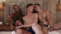 Braxton Boyd And Louis Ricaute Double-Penetrate J Anders HD
