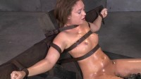 Maddy O'Reilly Gets Restrained And Throatboarded By 2 Huge Cocks, Brutal Challenging Deepthroat