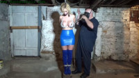 HunterSlair – Krystal Star – Breast Bound Torment In His Basement