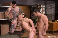 Sexual His Assment Scene 2 – Jaxton Wheeler, Teddy Bryce & John Magnum (1080p)