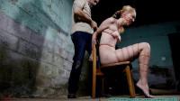 Ariel Suffers In A Thin Twine Nude Hogtie – Ariel Anderssen