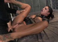Bonnie Rotten Bound In A Straightjacket And Roughly Fucked Hard