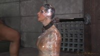 Sexy Syren De Mer Saran Wrapped, Mummified And Shackled