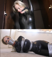Super Tying, Torture And Wrist And Ankle Bondage For Hawt Angel In Latex
