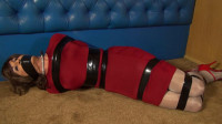 Tranniesintrouble – Sandra In Her Tight Red Dress