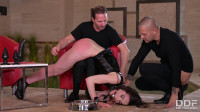 Nataly Gold – POWER PLAY DOUBLE PENETRATION Punishment By Two Masters