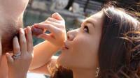 Minako Uchida Is Engulfing Her Butler S Hard Shlong