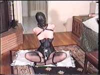 He Tied Her Up With Rope And Covered Her Mouth