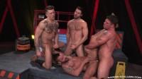 Four Stallions Fuck
