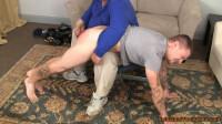 David Back Over Rich's Knee