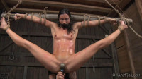 Hard Bondage, Suspension And Torture For Sexy Brunette Full HD