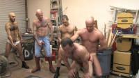 Rough Group Sex & Uninhibited Fisting