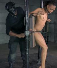 Rough Bondage For Ebony Whore Nikki Darling