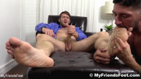 Johnny Hazzard Worships Colby Keller's Socks And Feet – HD 720p
