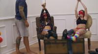 HD Bdsm Sex Videos Double Interrogation Tickle Torture