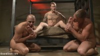 Newcomer Vs Veteran – Slaves Compete To Satisfy Their Masters