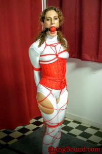 SBound – Simone.. Stripper Pole Tied