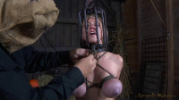 Shackled Mother Id Like To Fuck Is Having Her Head Locked In A Metallic Cage