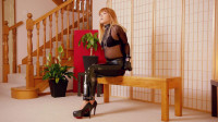 RestrictedSenses – Mina – Locked In My New Leather Mittens