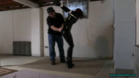 Sarah Brooke Captured, Tied In A Strappado And Whipped In The Basement Dungeon