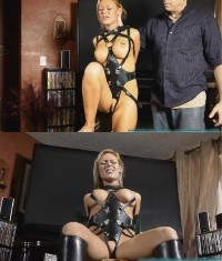 Tight Bondage, Domination And Torment For Beautiful Naked Blonde