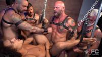 Derek's Leather  Gang Bang – Part 2