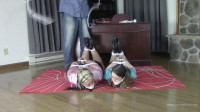 Serene Isley & Adara Jordin – Co-erced To Bind And Gag Her Roommate