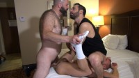Raw And Rough – 2 Bottoms And 2 Loads – Boy Fillmore, Milan Gamiani And Matt Hart