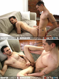 CockyBoys – Arnaud Chagall Gets Plowed By David Corey 720p