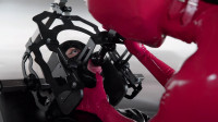 Tight Restraint Bondage, Punishment And Domination For Sexy Hotty In Latex HD 1080