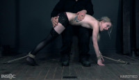 Serious Bondage For Blond Slave