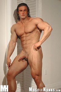 Muscle Hunks – Joe Logan In Varsity Muscle