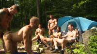 Urban Sluts In Wood Gangbang