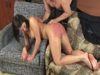 Russian Babe Punished & Spanked Hard