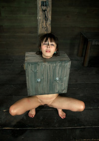 Cute Innocent Japanese Girl Boxed Throat Fucked, Pussy Fucked