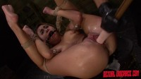 Marina Angel Is Challenged With Rope Bondage, Sybian, Deepthroat BJ & Rough Sex (2015)