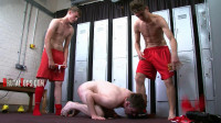 Session 275 – Suck Both Our Dicks After We Dildo Your Arse