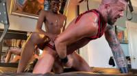 RawFuckClub Bastian Sass & Dolf Dietrich – Dolf Gags On 13 Inch Uncut Dick